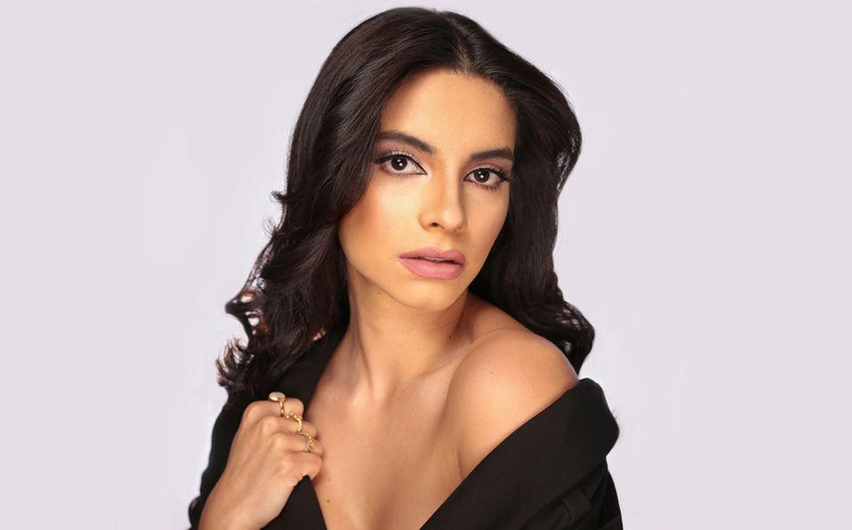 Ambar de Alba resalta su belleza con las tendencias de maquillaje. Foto: Aarón Solís