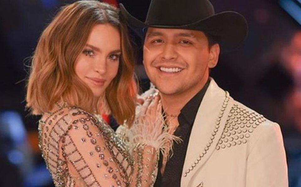 Belinda y Nodal interpretaron uno de los éxitos del cantante en el reality show (Foto: Instagram).