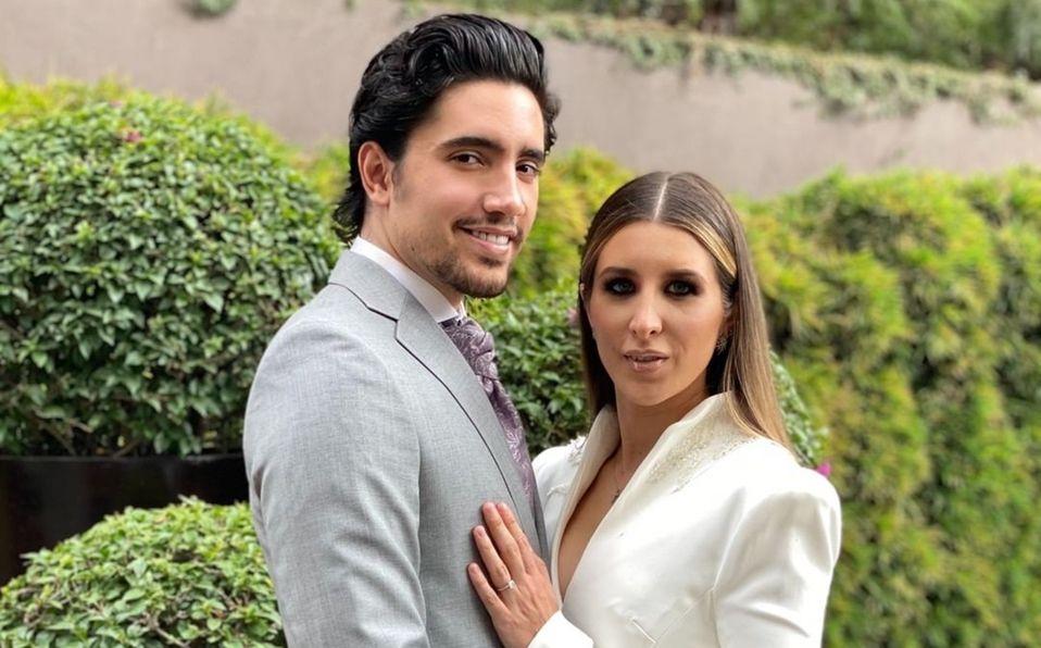 Alex Fernández: Así fue el vestido de novia en su boda con Alexia. Fotos (Foto: Instagram)