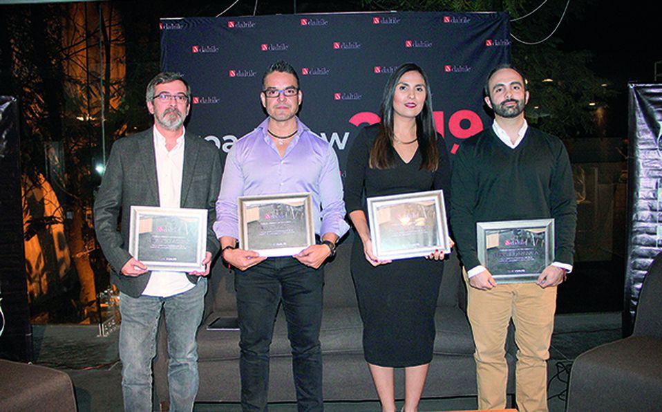 Ricardo Agraz, Ricardo López,, Adriana Medina y Eduardo Lassala