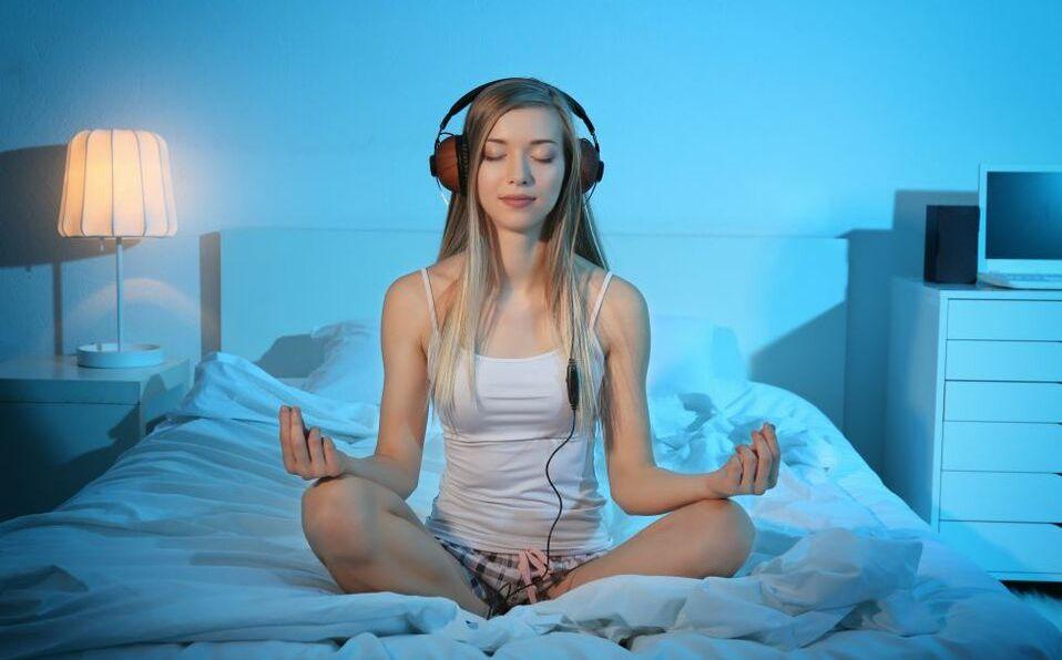 Meditación (Shutterstock).