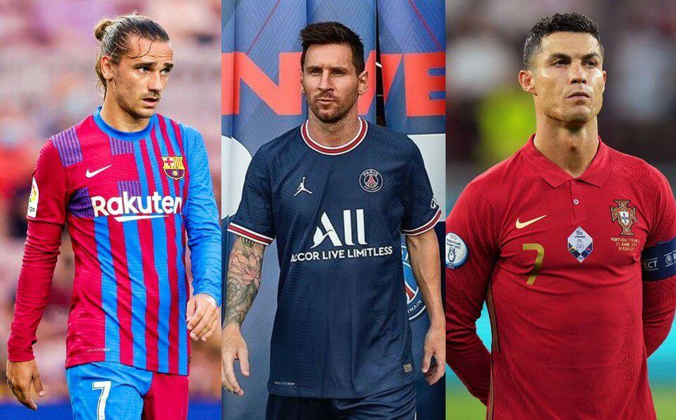 Futbolistas mejor pagados del mundo en 2021. Cuánto ganan