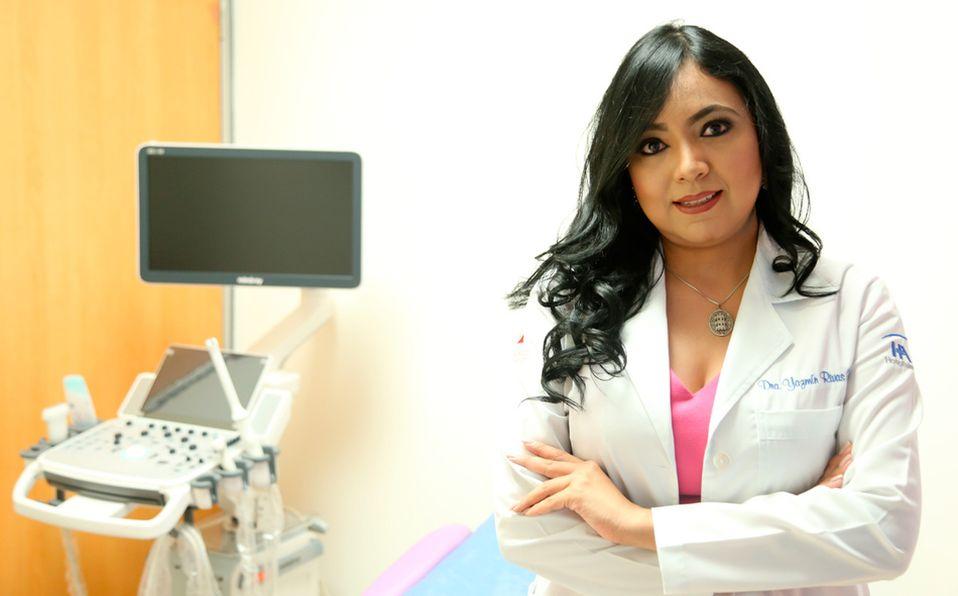 La ginecóloga-oncóloga Jazmín Rivas habla sobre su lucha diaria contra el cáncer de mama (Foto: Jaime Jiménez)