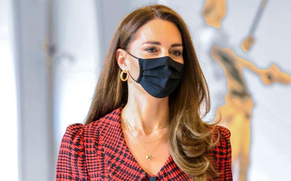 Kate Middleton y el vestido rojo para vestir como una Reina (Foto: Getty Images)