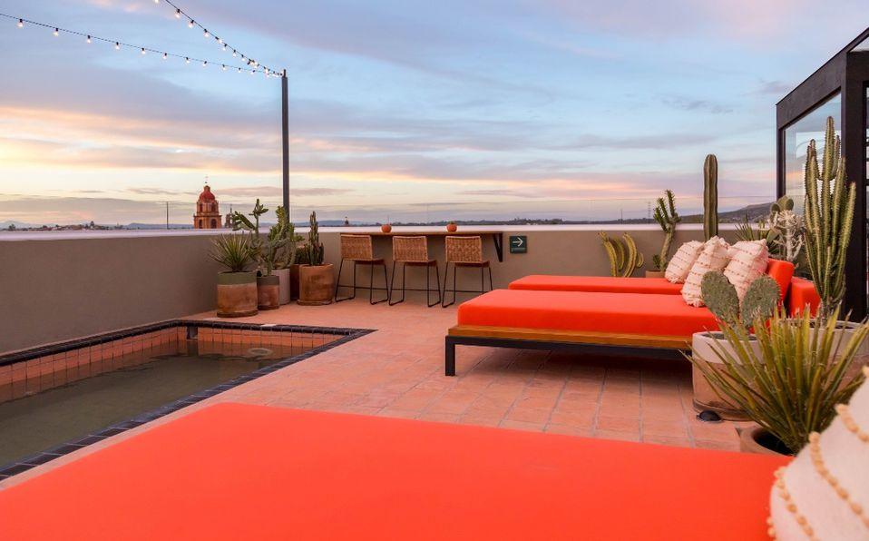 Bekeb está ubicado en la terraza del hotel boutique Casa Hoyos (Fotos: Cortesía).