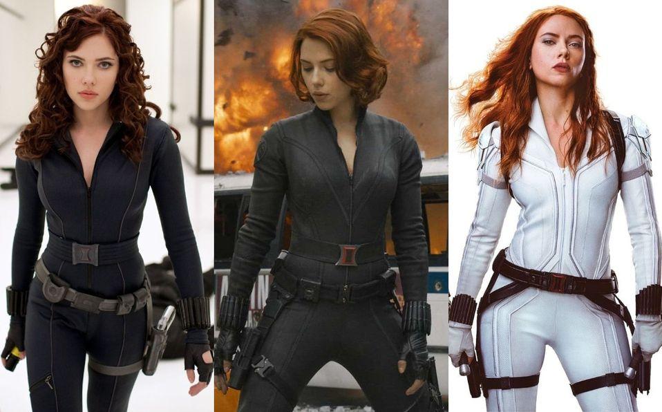 Black Widow. Scarlett Johansson y todos los cambios de look que tuvo en Marvel. (Foto: Instagram).