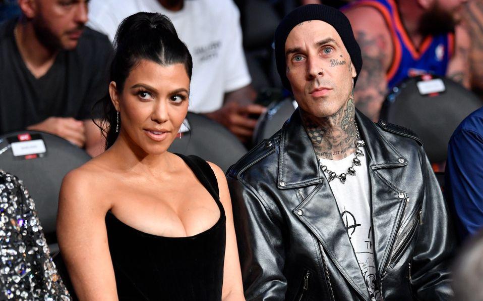 Travis Baker y Kourtney Kardashian, ¿se casaron en Las Vegas? (Foto: Getty Images)