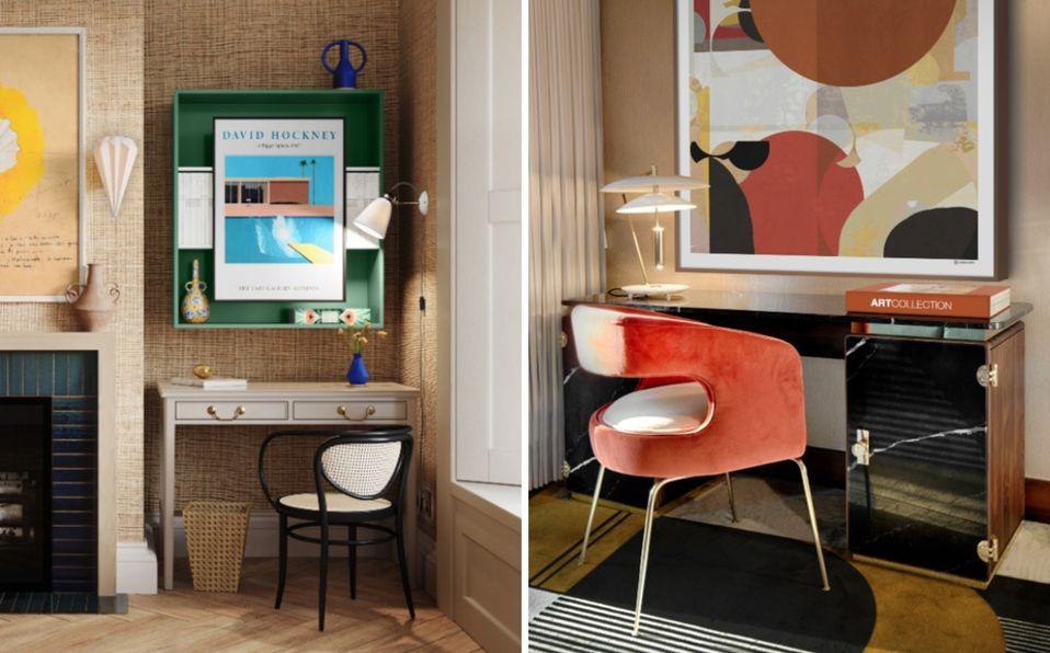Mobiliario de home office para crear tu espacio de trabajo