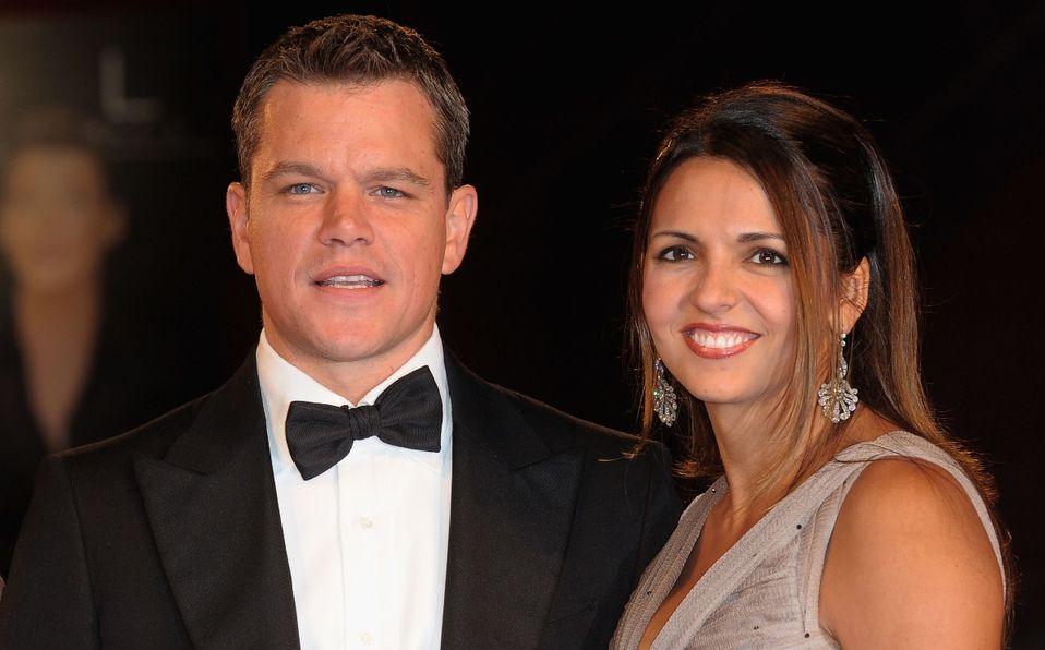 Quién es la esposa de Matt Damon (Foto: Instagram)