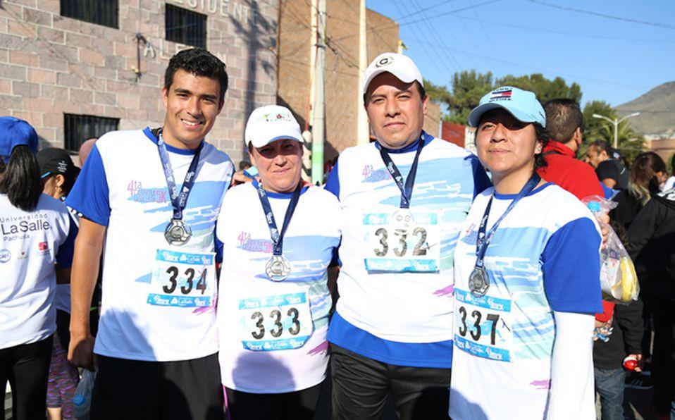 Daniela Girones, Ivett Escutia, Aranza Girones, Paulina Aguirre y Cindy Camacho