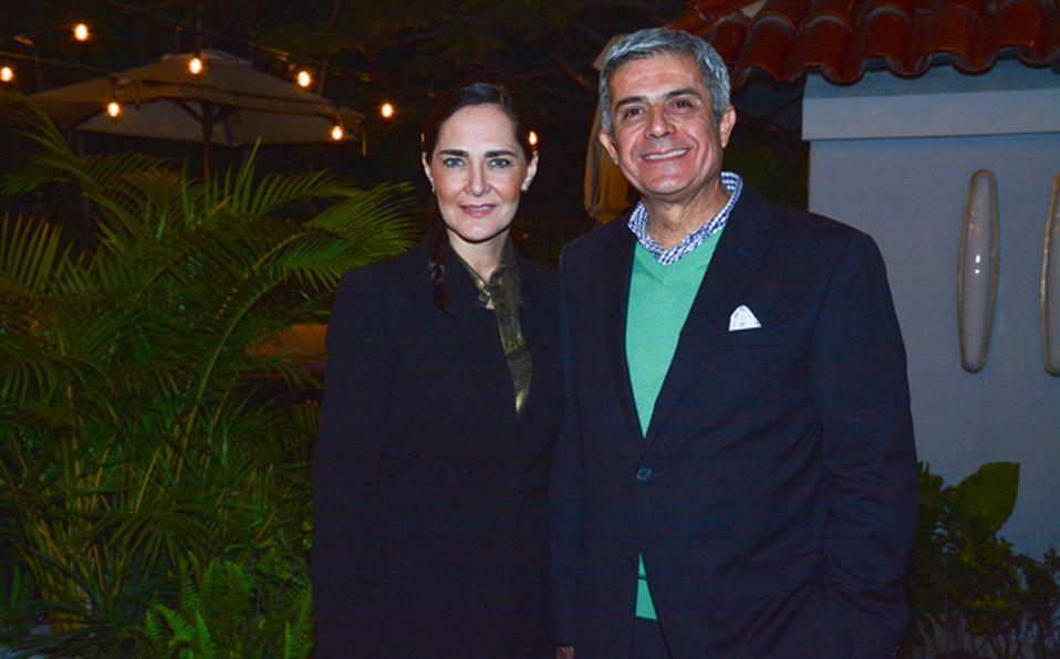 Sara Galindo y Alejandro Fernández