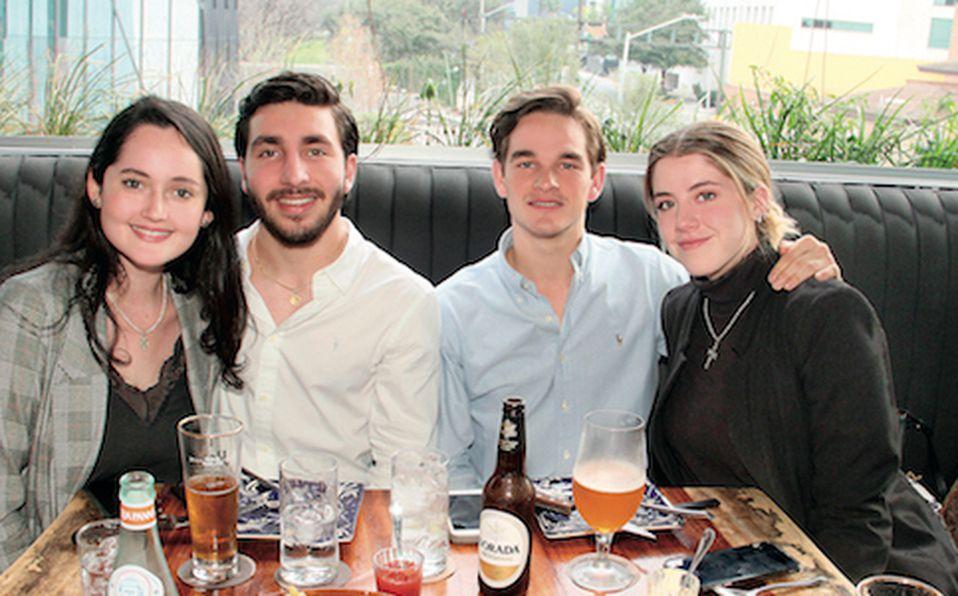 Nicole Clouthier, Alejandro González, José Rodarte y Amelia de Llano