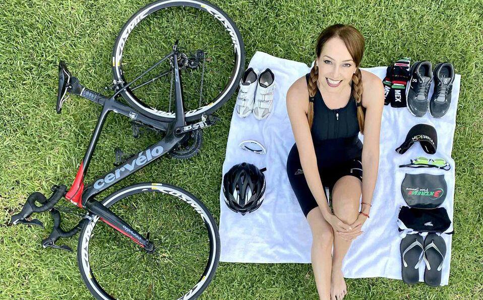 La triatleta Erika de la Peña habla de su pasión por el deporte (Foto: Cortesía)
