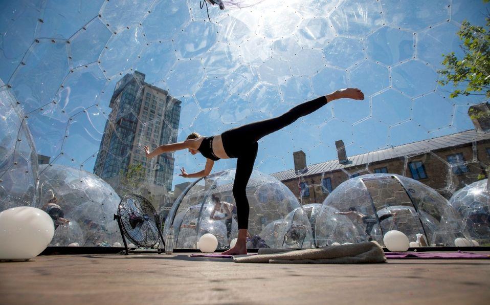 Clase de Yoga en Toronto. (Imagen: Intagram)