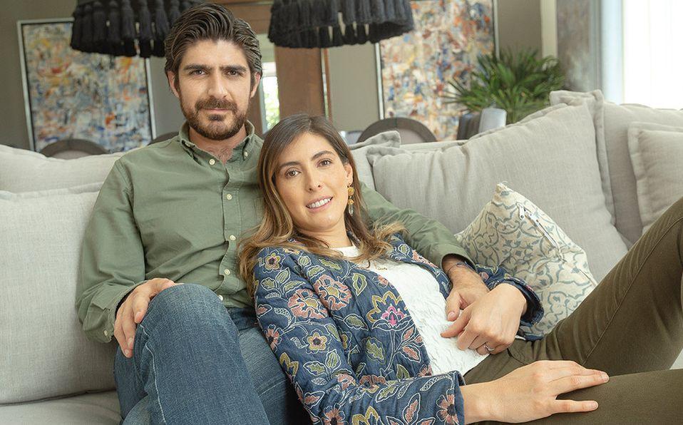 Jessica Mar y Rafael Robles, una joven familia