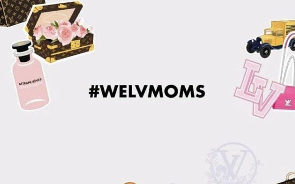 We Love Moms Louis Vuitton (Cortesía).