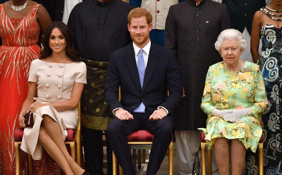 Reina Isabel dará un mensaje antes de la entrevista de Meghan y Harry (Foto: Getty Images)