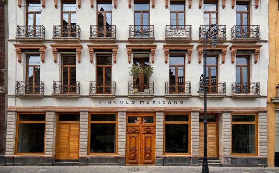 Círculo Mexicano, el nuevo hotel del Centro Histórico de la Ciudad de México