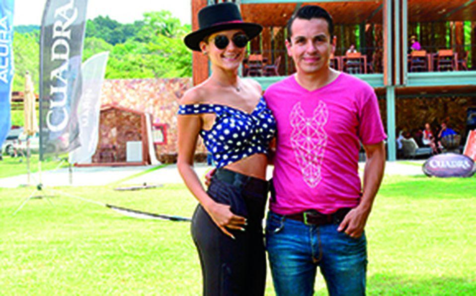 Sebastián Chalita y Valeria Cervantes