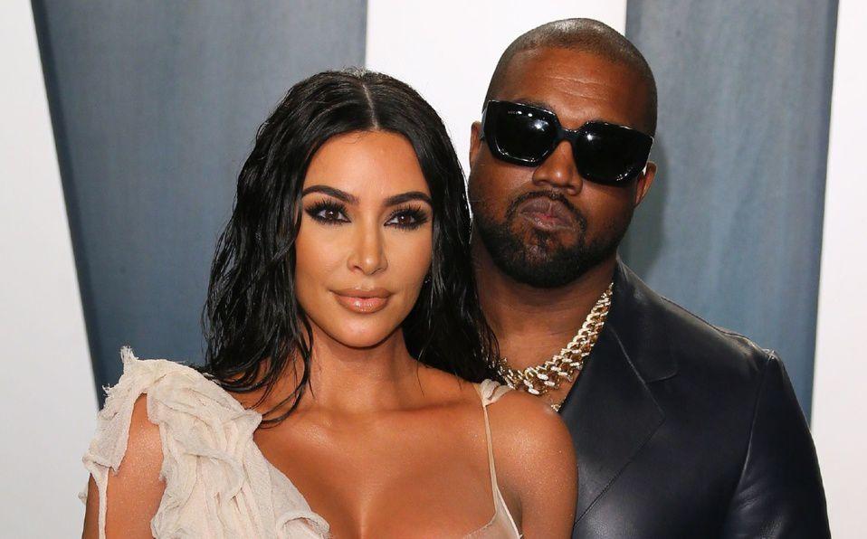 Kanye West impacta al mundo al recrear su boda con Kim Kardashian (Foto: Instagram)