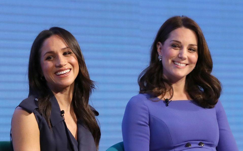 Meghan Markle y Kate Middleton, en proceso de reconciliación (Foto: Getty Images)