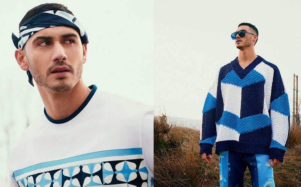 Alejandro Speitzer sorprende con siete diferentes looks junto a Dolce & Gabbana