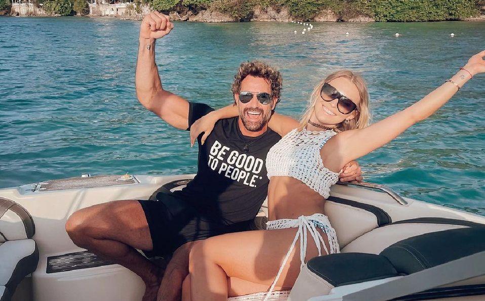Irina Baeva y Gabriel Soto están de vacaciones en Jamaica. (Foto: Instagram).