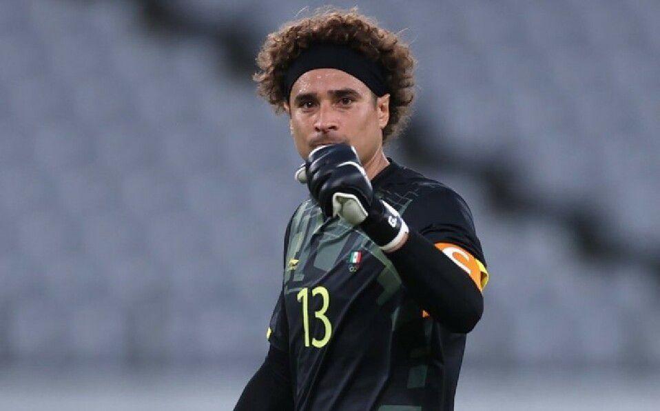 Memo Ochoa llora al ganar medalla de bronce en Tokio 2020. (Foto: Instagram).