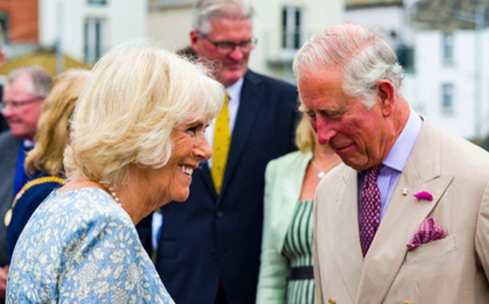 Camilla y el príncipe Carlos.