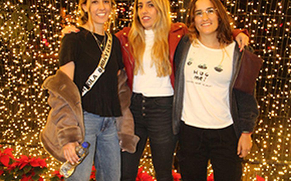 Ale Hernández, Cindy Marchena y Demián Zepeda