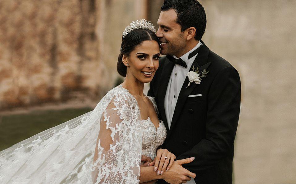 Mariana Berumen y Francisco Gallardo celebraron su unión en matrimonio. Foto: Karen Padilla Fotografía