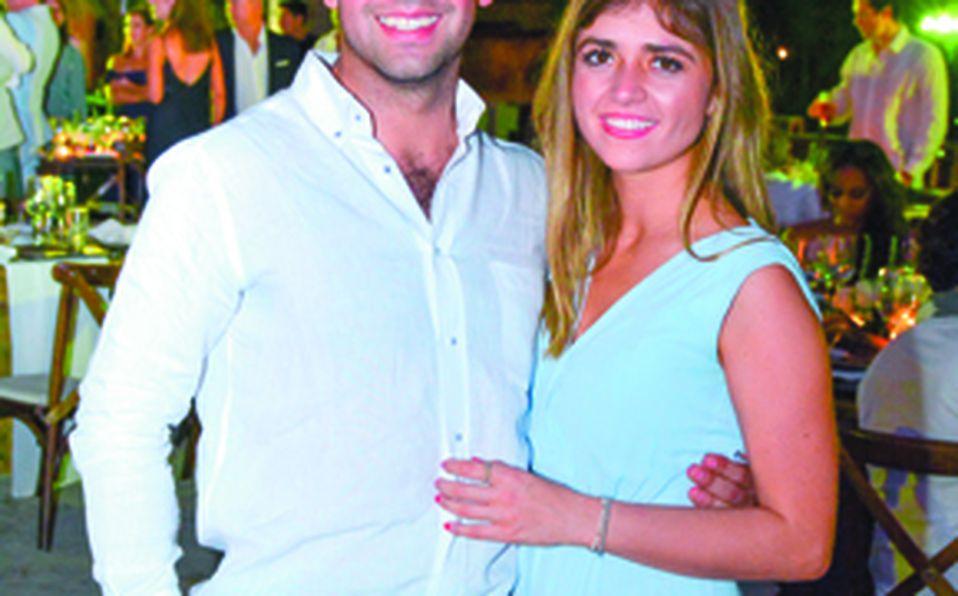 Alejandro Martínez y Adriana Briseño