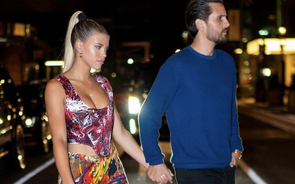 Sofia y Scott vivían juntos antes de su separación (Foto: Instagram).